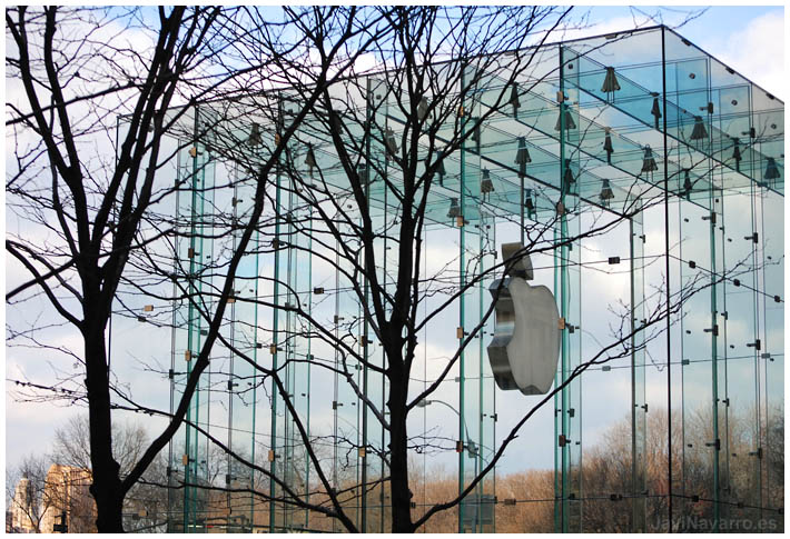 Apple Store || Nikon D80 | 1/160s | f/7,1 | ISO 100 | a pulso